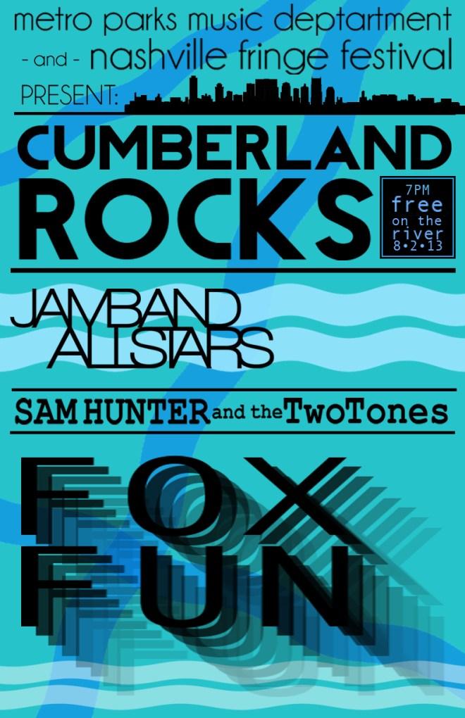 Nashville Fringe Festival; Cumberland Rocks