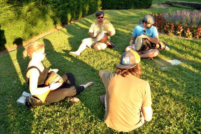 Centennial Park Nashville Fringe Festival 2012