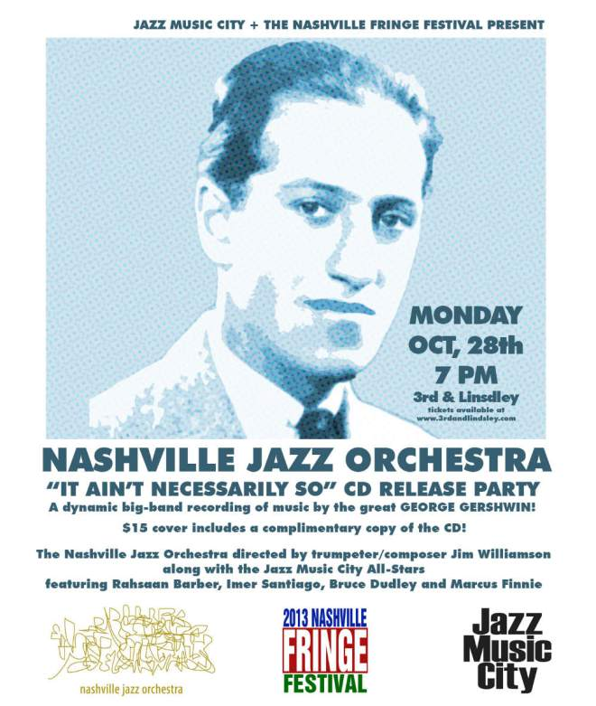 Nashville Jazz Orchestra It Aint Necessarily So
