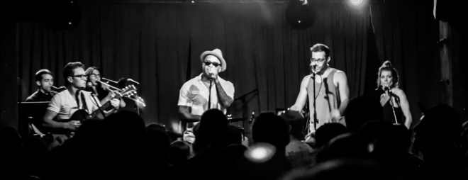 AJ & the Jiggawatts Mercy Lounge 201415