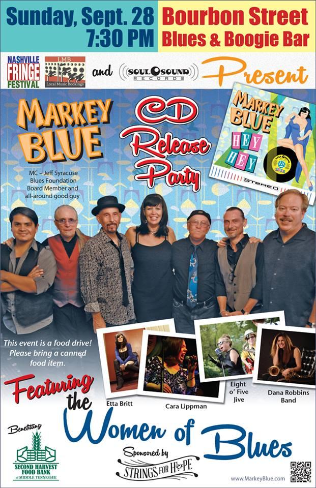 Markey Blue Hey Hey Release Show