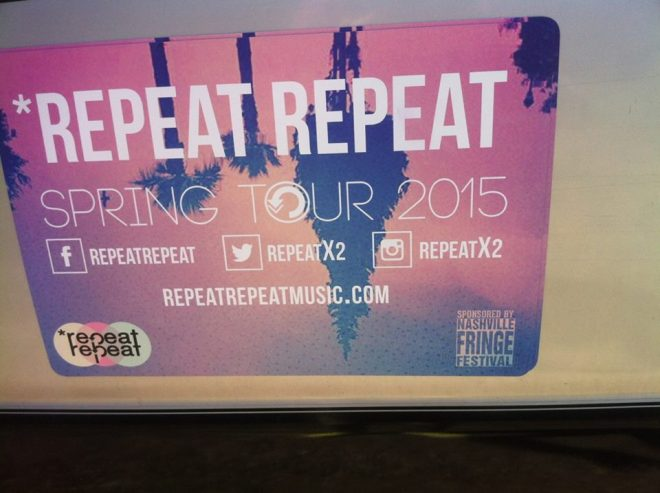 Repeat Repeat Tour Van 2015 02