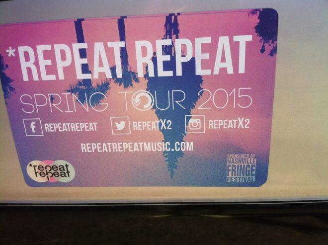Repeat Repeat Tour Van 2015 02