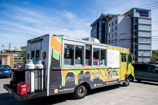 Riffs Food Truck Yazoo 2015