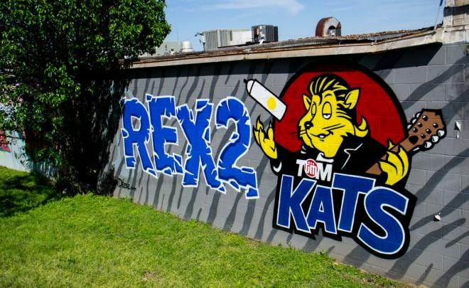 Tom Cats Division Street Street Art Graffiti Nashville