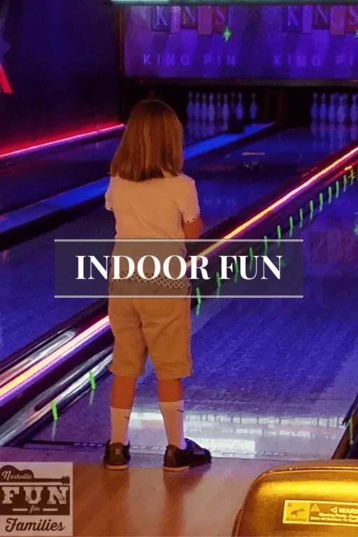 Indoor fun in Nashville Pinterest image
