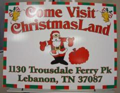 Nashville Christmas Lights - Christmas Land