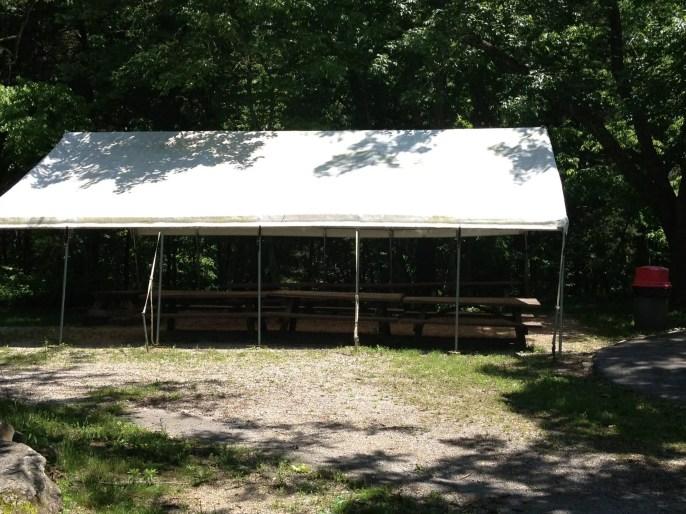Nashville fun for families - Kentucky down under - picnic area