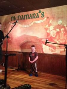 Nashville fun for families - McNamaras- the littlest in training