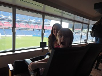 LP Field - Checking out the Owners' Suite - Nashville Fun For Families