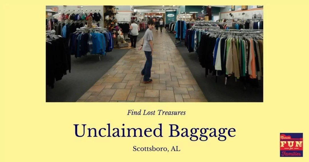 Find Lost Treasures at Unclaimed Baggage in Alabama