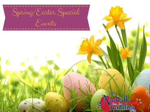 Spring-Easter Special Events