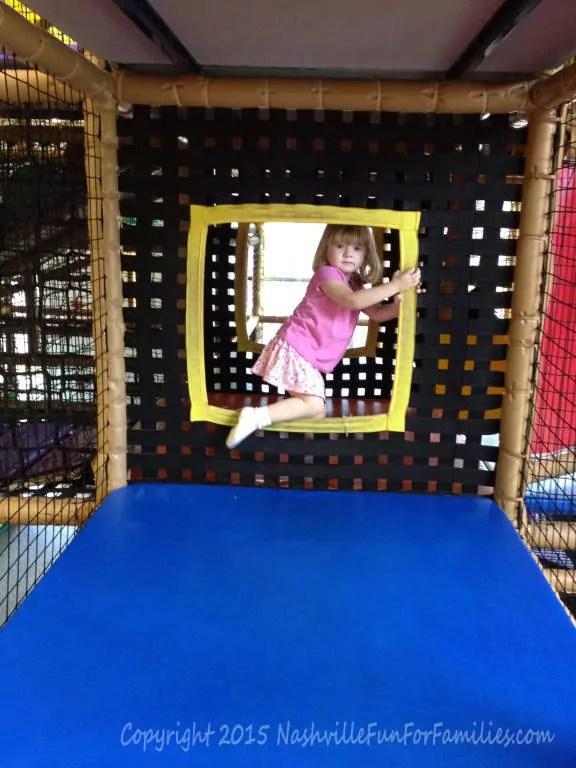 Cornerstone Indoor Playground - Playing Inside
