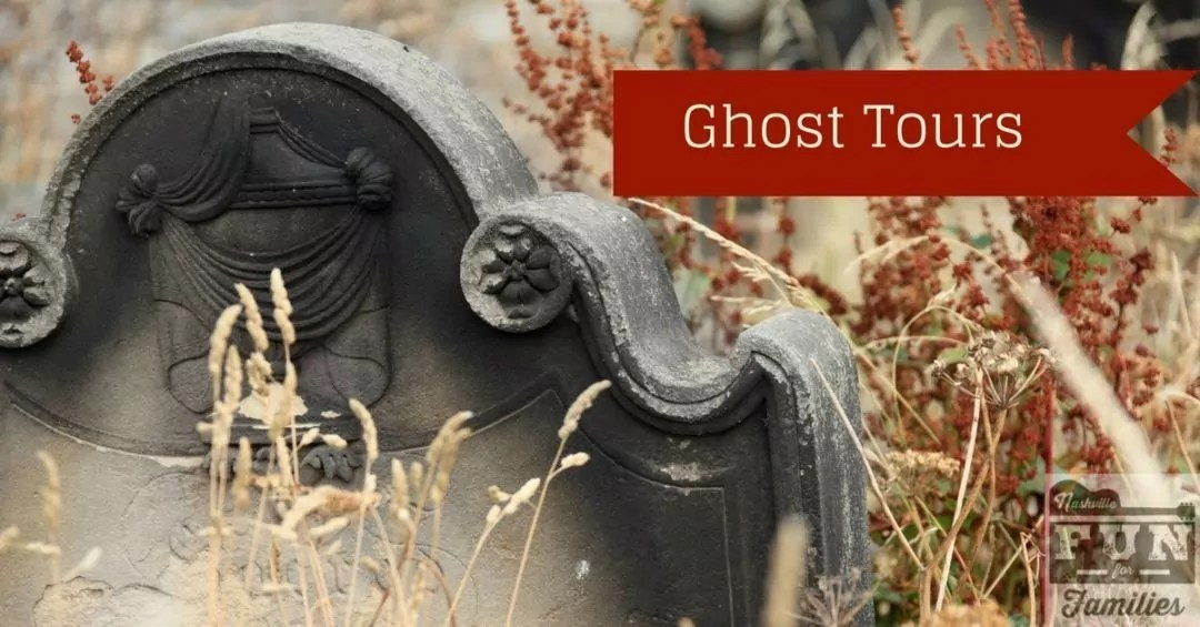 Fall guide to family fun in Nashville - ghost tours