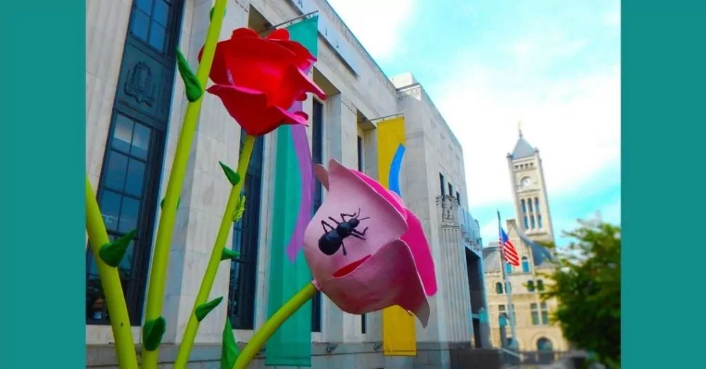 The Frist Center Roses