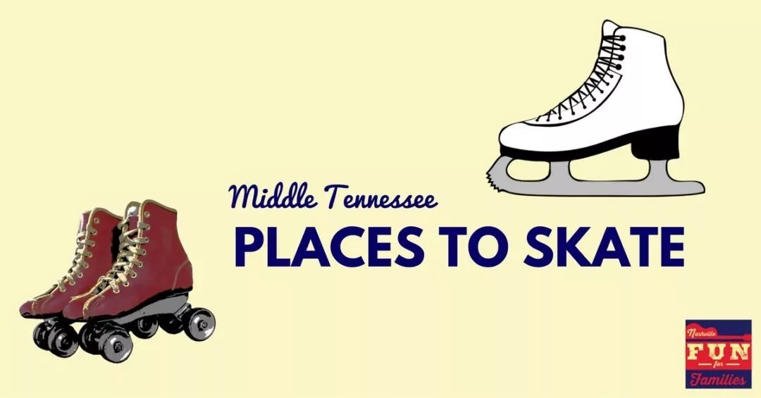 Nashville Winter Fun Guide - Find Places to Skate in Middle Tennessee