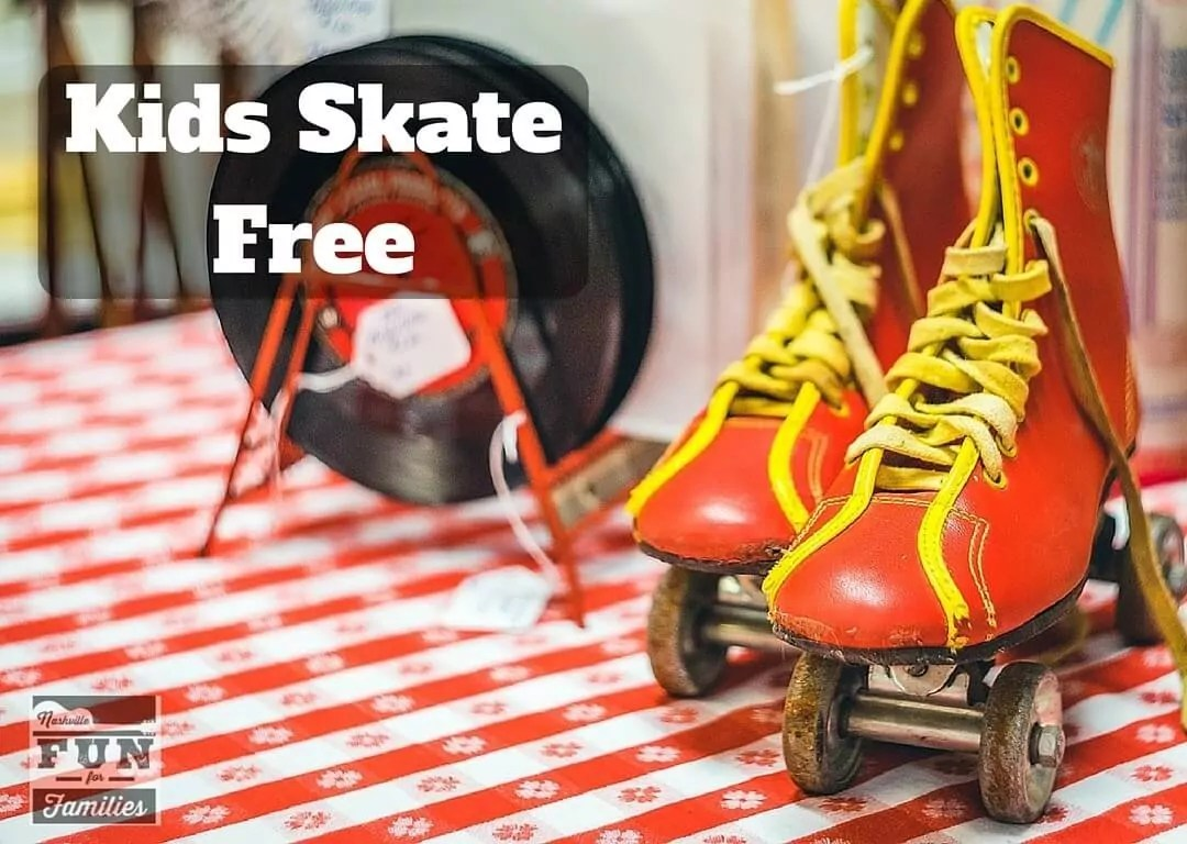 Nashville Family Fun Summer Guide - Kids Skate Free