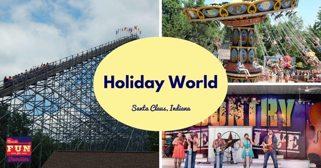 Holiday World The Worlds First Theme Park in Santa Claus Indiana