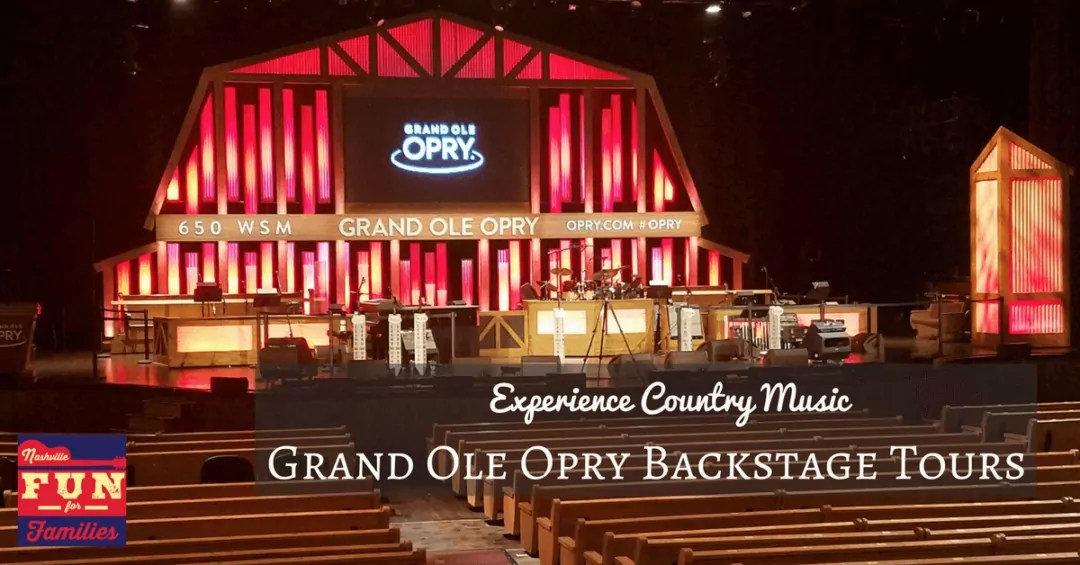 Experience Country Music – Grand Ole Opry Backstage Tours