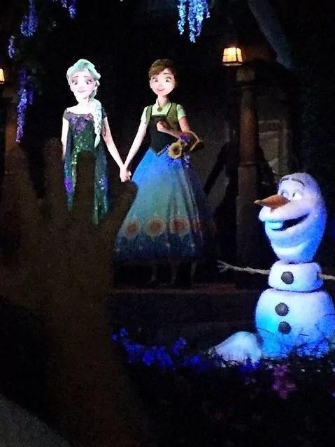 First Trip to Disney World - Frozen ride