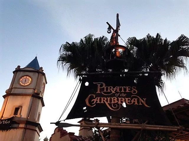First Trip to Disney World - Pirates of the Caribbean