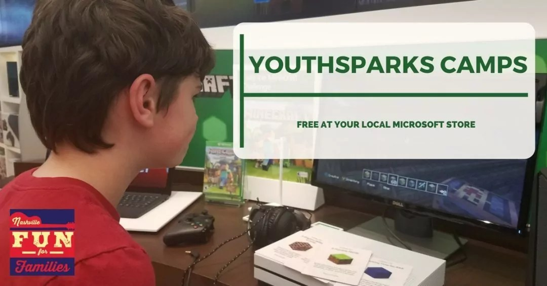 Nashville Family Fun Summer Guide - Microsoft FREE Youthsparks Camps