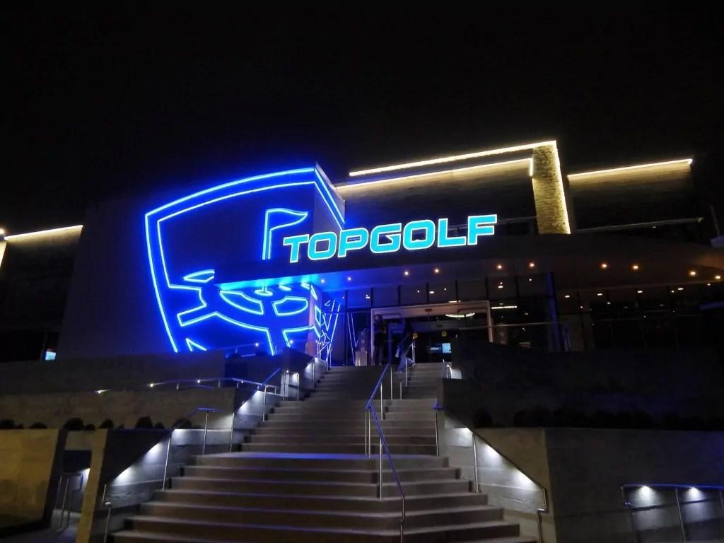 Topgolf Nashville - front entrance