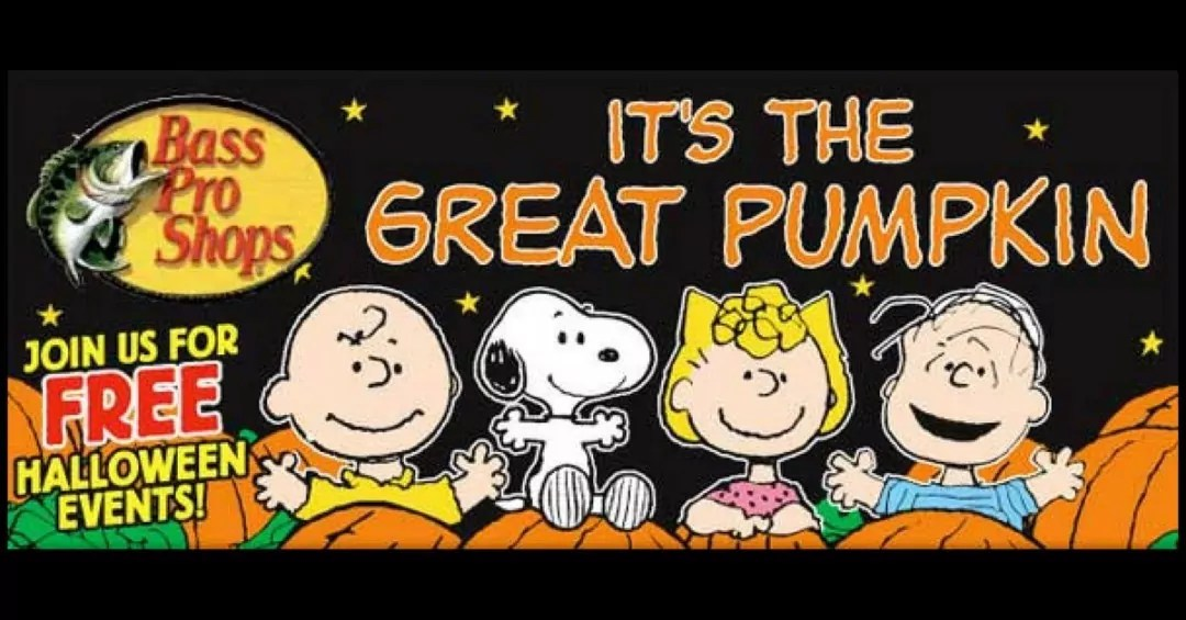 Bass Pro Shops Celebrate Halloween with The Peanuts Gang