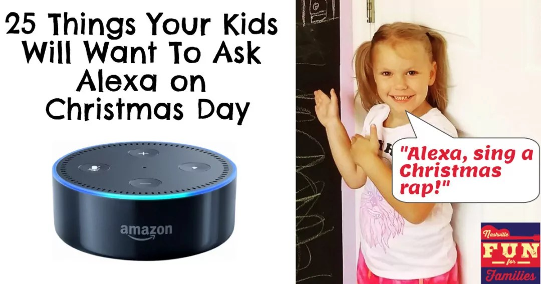 25 things your kids will want to ask alexa on christmas. Black Bedroom Furniture Sets. Home Design Ideas