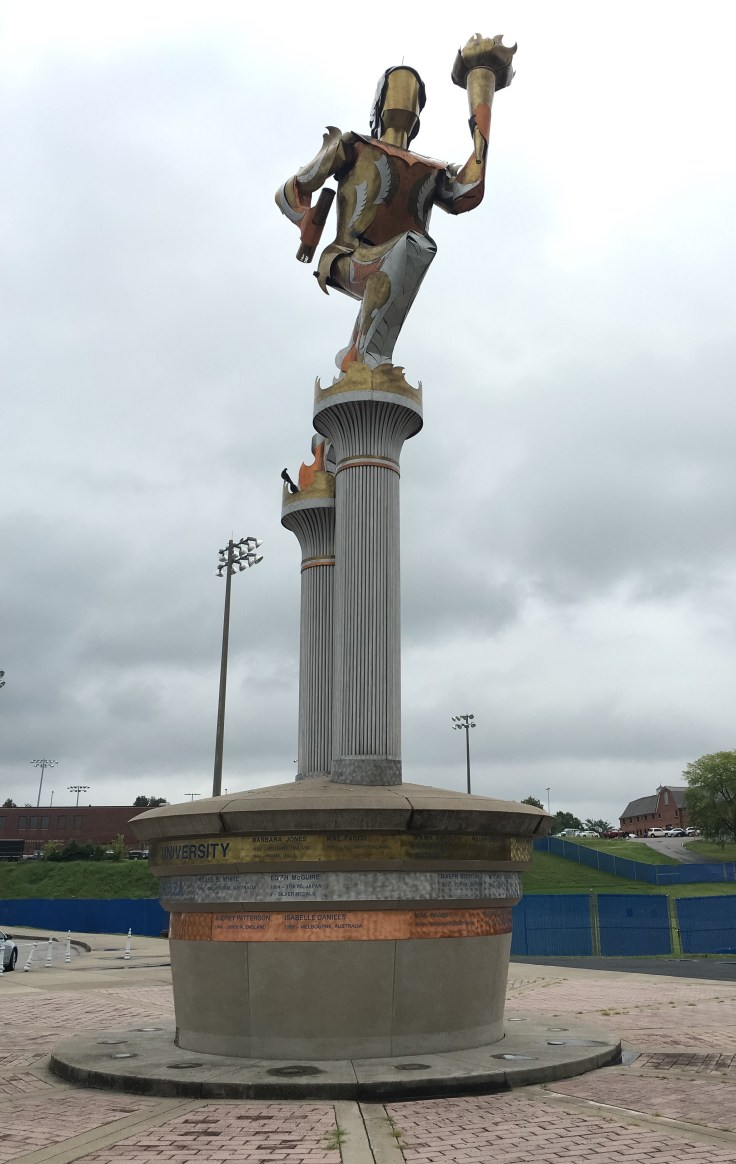 Wilma Rudolph statue Nashville TSU