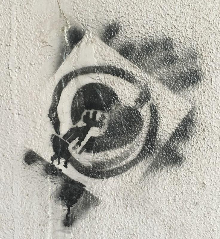Stencil art street art Nashville