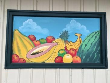 Fruit mural street art Nasville