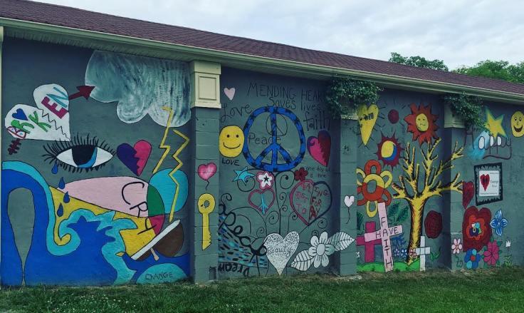 Hope mural street art Nashville