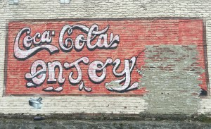 Coca-Cola mural street art Nashville