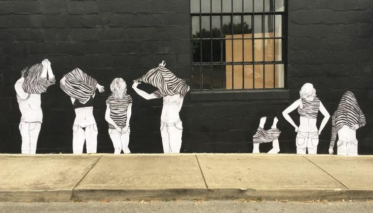 Dressing mural street art Nashville