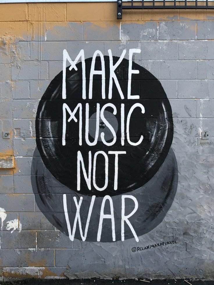 Music mural street art Nashville