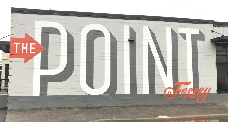 The Point mural street art Nashville