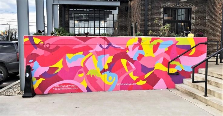 Beaujolais mural street art Nasville