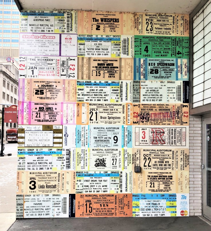 Tickets mural street art Nashville