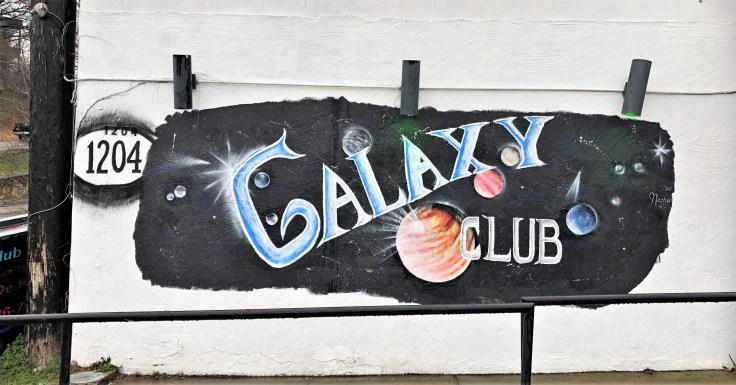 Galaxy Club mural street art Nashville