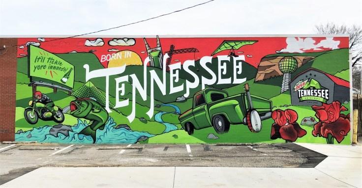 Tennessee mural street art Nashville