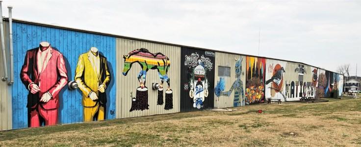 Nations mural street art Nashville