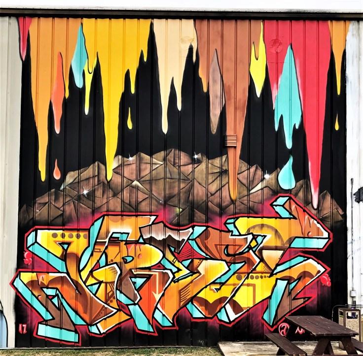 Graffiti mural street art Nashville