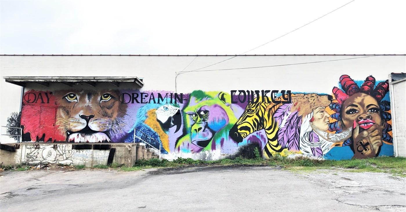 CeeBee Dock mural street art Nashville