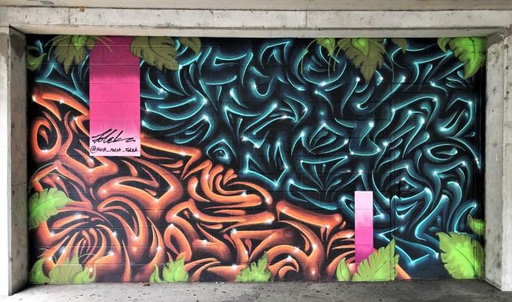 Folek mural street art Nashville
