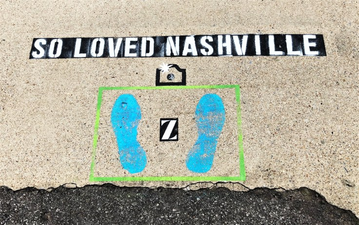 Zeal Instagram sign street art Nashville