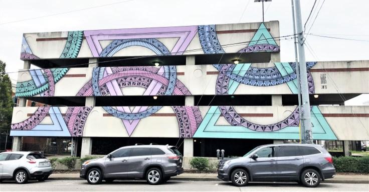 Zidekahedorn mural street art Nashville