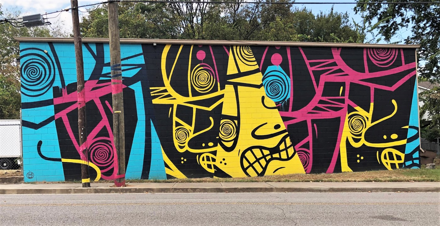 TerboSterbo Salemtown mural street art Nashville