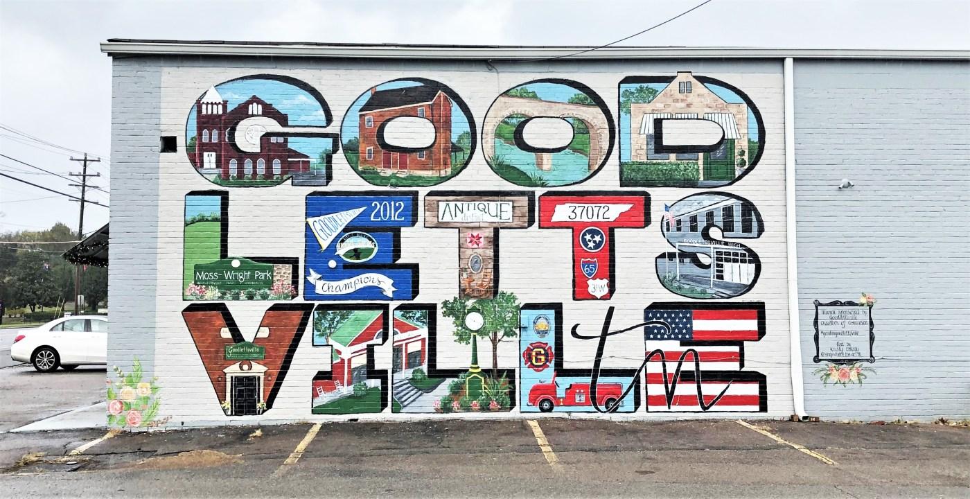 Goodlettsville Mural street art Nashville
