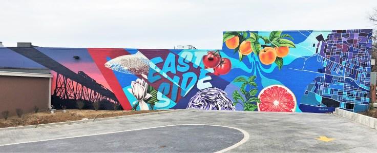 East Kroger mural street art Nashville